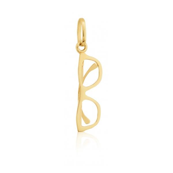 Pingente Óculos em Ouro 18k