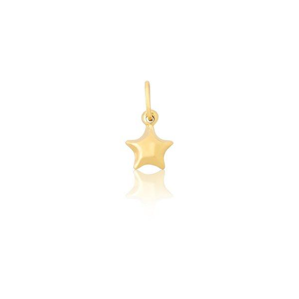 Pingente Estrela em Ouro 18k