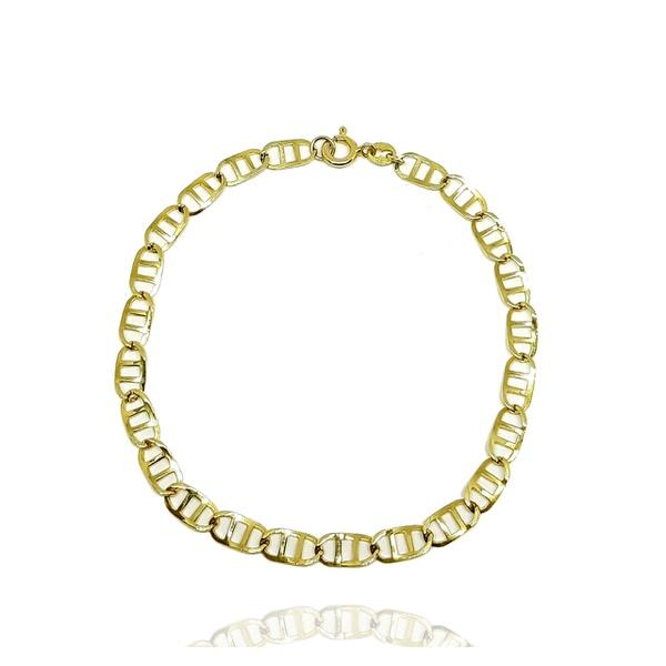 Pulseira Masculina Piastrine em Ouro 18k