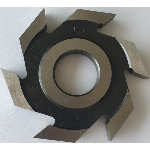 Fresa Canal Reto ou Rebaixe em Aço 100 x 15 x 30 x 6z (73.01)