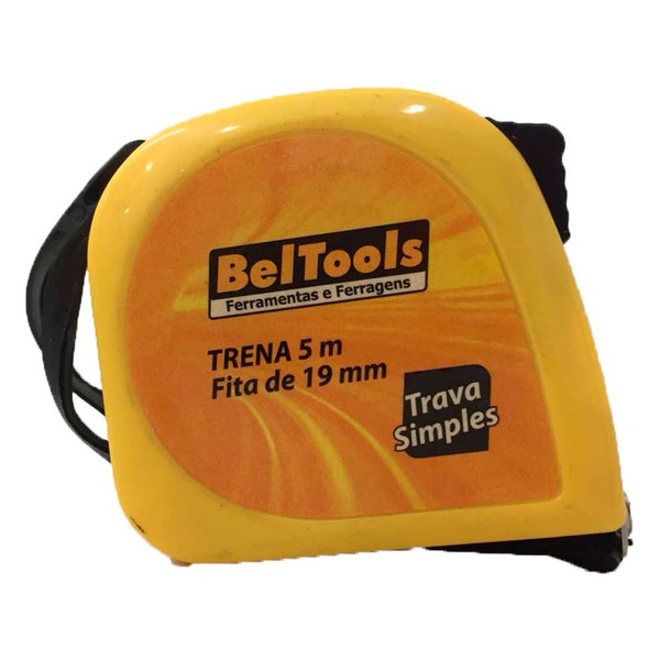 Trena Curta Simples 5 Metros 5m X 19mm 16 ft Beltools