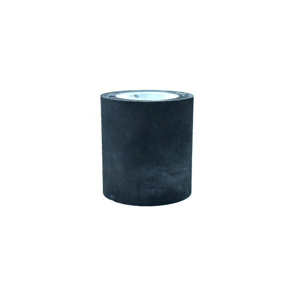 Cabeçote porta Lixa em Borracha Diâmetro 80 mm x Altura 80 mm