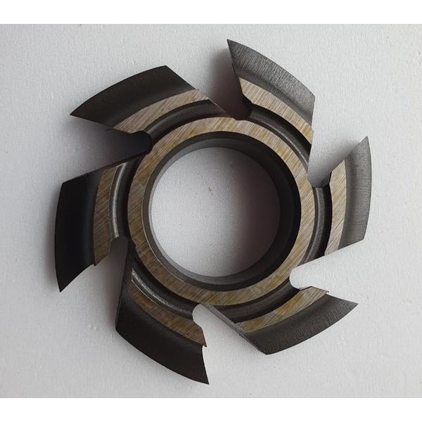 Fresa Para Desquinar/Cordões De Janela 100mm X 15mm 6 Asas Em Aço Fepam