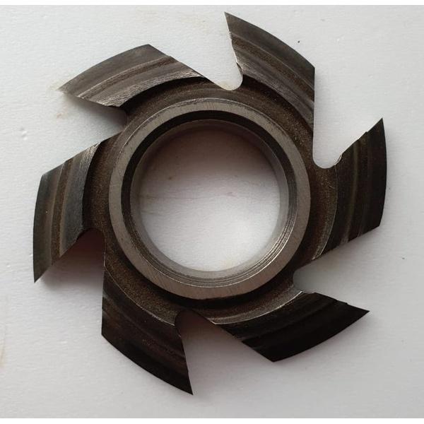 Fresa Para Molduras 80mm X 15mm 6 Asas Em Aço Fepam