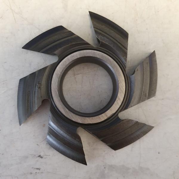 Fresa Para Molduras 90mm X 16mm 6 Asas Em Aço Fepam