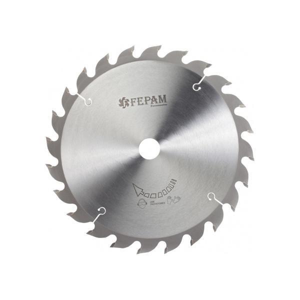 Disco de Serra Circular 250 mm X 24 dentes F.30 Fepam