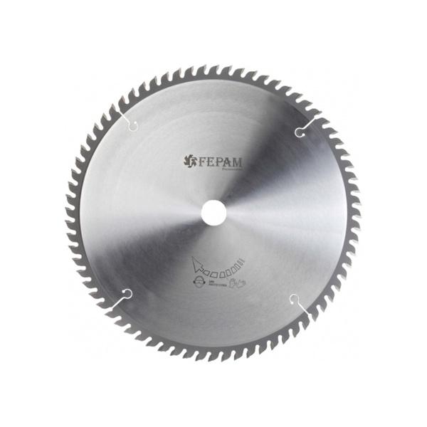 Disco de serra circular 250 mm X 60 dentes ED, F. 30 Fepam
