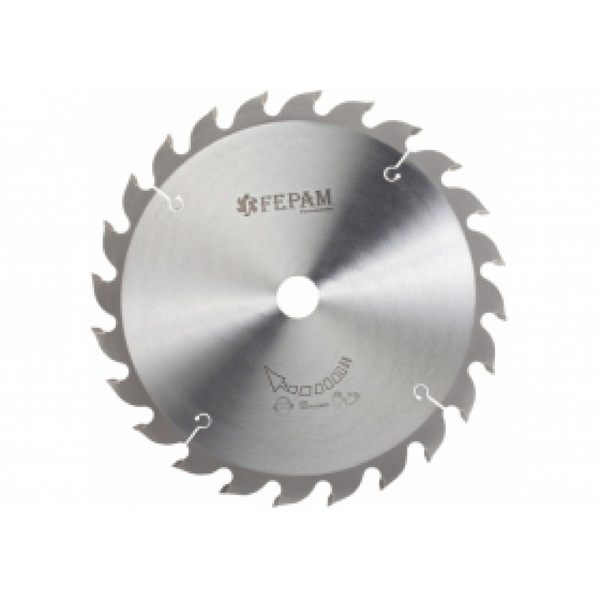 Disco de serra circular 350 mm X 24 dentes F.30 Fepam