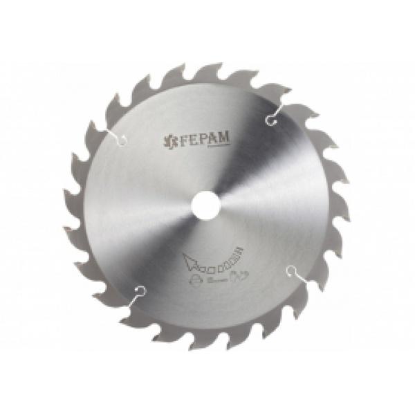 Disco de serra circular 400 mm x 24 dentes F.30 Fepam