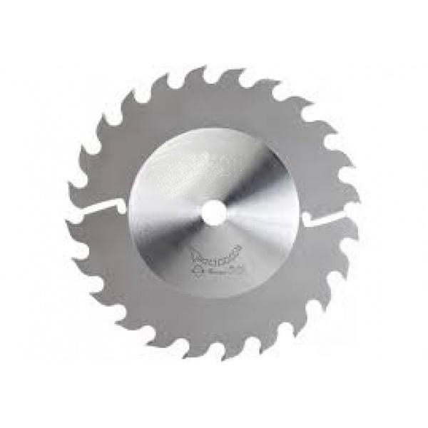 Disco de Serra Circular 350 mm X 24 dentes X 5,1/3,5 Fepam para Múltipla com 2 Limpadores