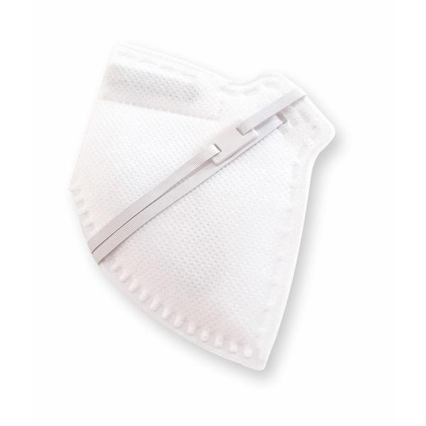 Respirador Infantojuvenil Reutilizável PFF2 (S) - branco - Kit com 10 un.