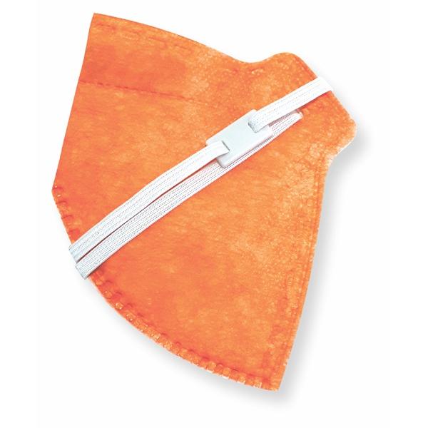 Respirador Infantojuvenil Descartável PFF2 (S) - laranja - Kit com 10 un.