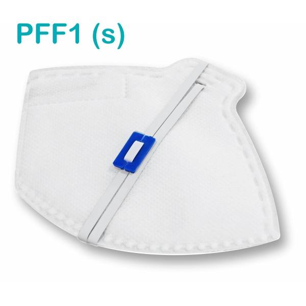 Respirador Descartável Tipo PFF1 (S) Branco - Kit com 10 un.