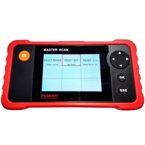 Scanner Automotivo Teste Motor Masterscan i Planatc