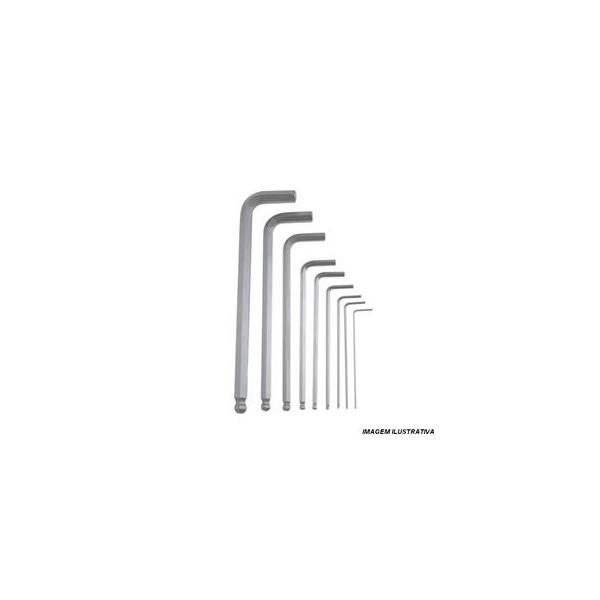 Jogo Chave Allen Longa 1,5-10mm 9 Pc