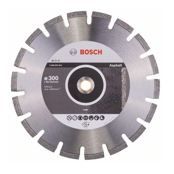 Disco Diamantado 350 x 20 x 25,4mm Asfalto Bosch