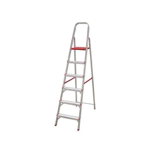 Escada Aluminio C/ 6 Degraus