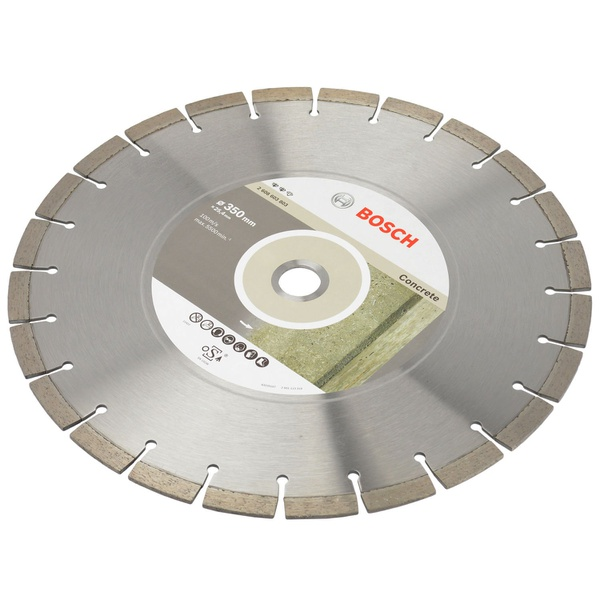 Disco Diamantado 350 x 20 x 25,4mm Concreto Bosch