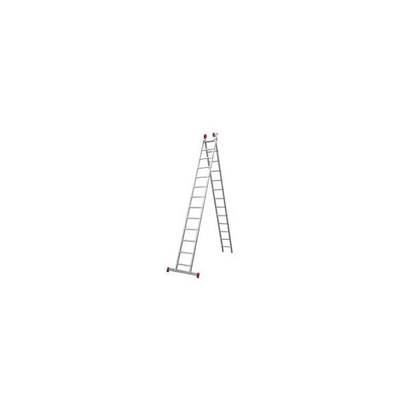 Escada Aluminio Extensiva 2 x 13 Degraus Botafogo