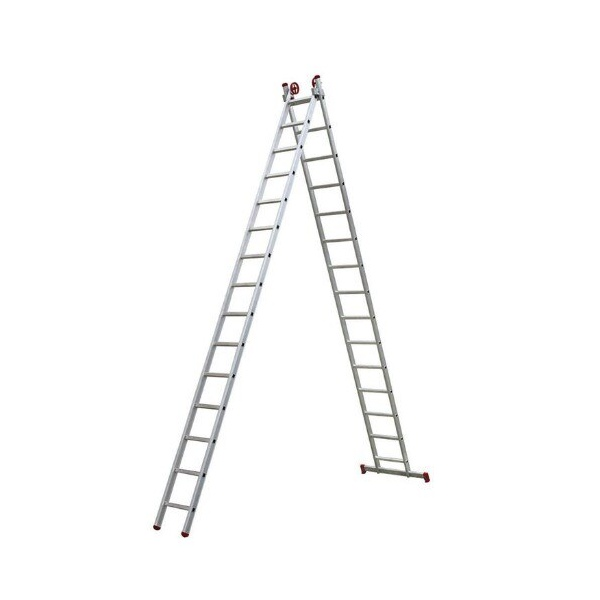 Escada Aluminio Extensiva 2 x 15 Degrau Botafogo