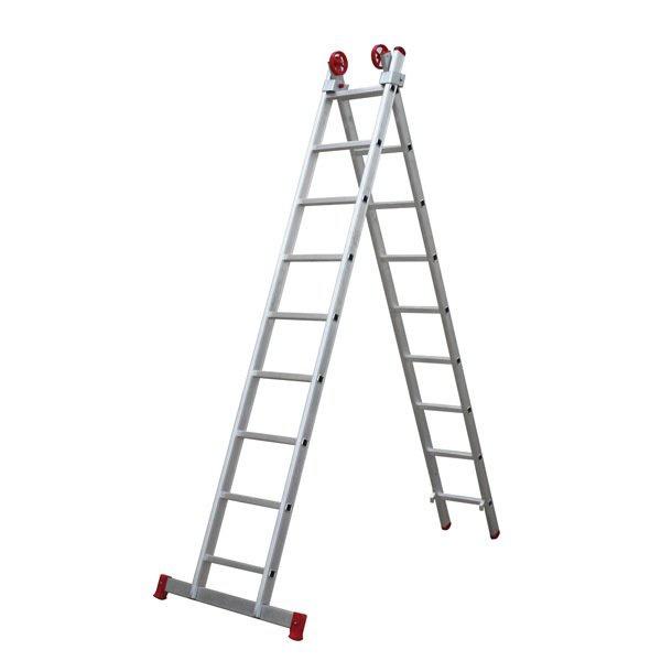 Escada Aluminio Extensiva 2 x 12 Degraus Botafogo