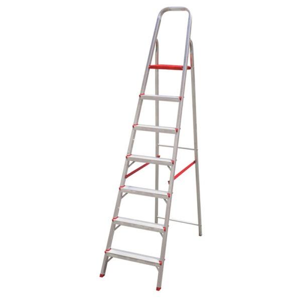 Escada Aluminio C/ 7 Degraus