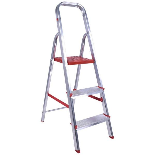 Escada Aluminio C/ 3 Degraus