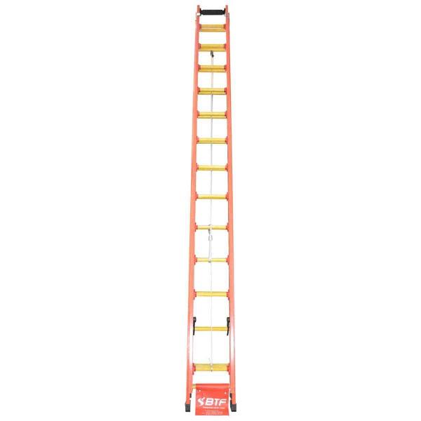 Escada Extensiva Fibra De Vidro 23 Degraus Botafogo