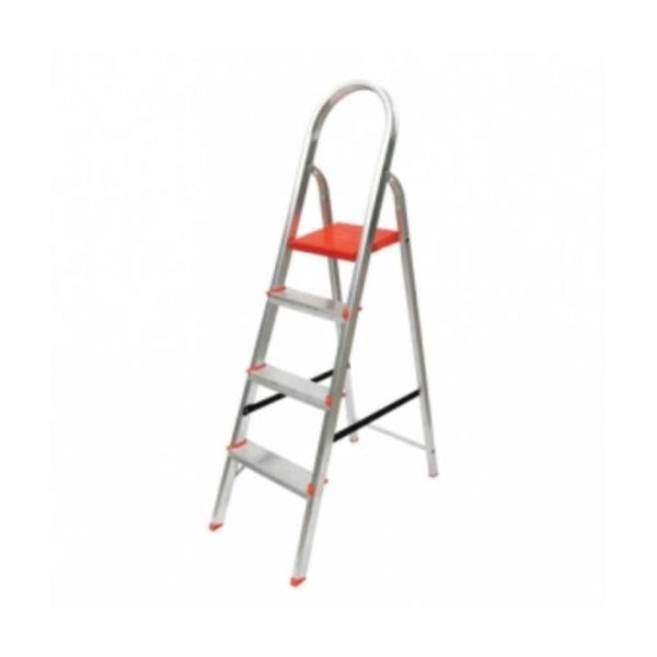 Escada Aluminio C/ 4 Degrau
