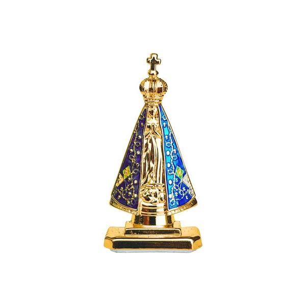 Imagem Nossa Senhora Aparecida Metal 5 centímetros Adesivo