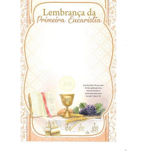 LEMBRANCA 1ª EUCARISTIA SEM TEXTO