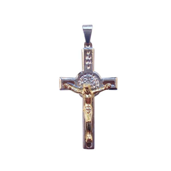 Crucifixo São Bento 3.5x1.8cm