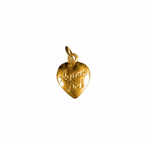 Medalha Agnus Dei Dourada