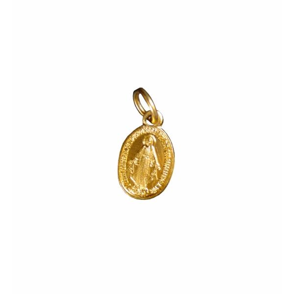 Medalha Milagrosa Dourada Pequena