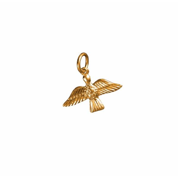 Medalha Pombinha do Espírito Santo Dourada