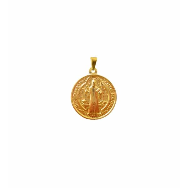 Medalha São Bento Dourada