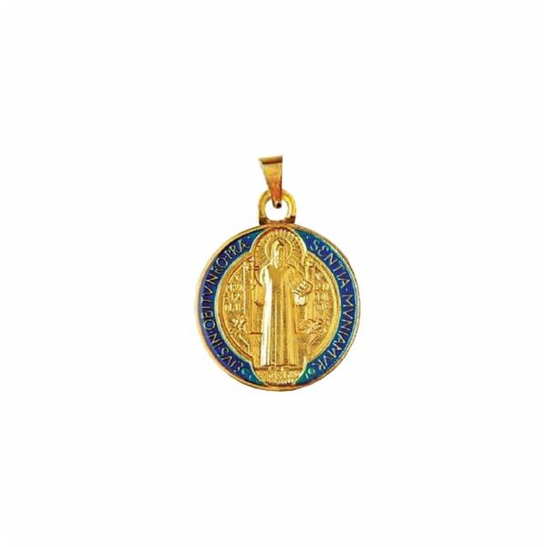 Medalha São Bento Resinada 22mm