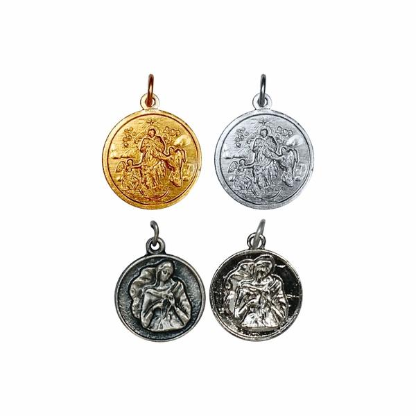 Medalha Desatadora dos Nós Dourada e Prateada
