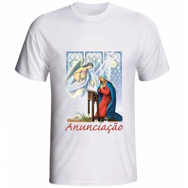 Camiseta da Nossa Senhora da Anunciação