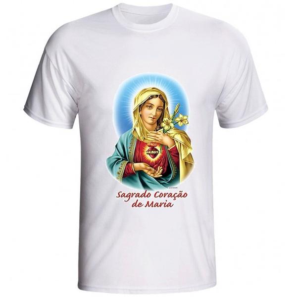 Camiseta Sagrado Coração de Maria