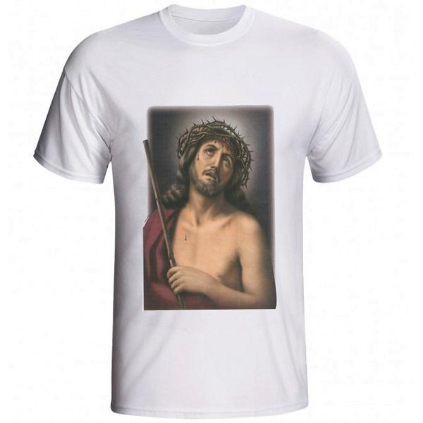 Camiseta Cristo Coroa de Espinhos