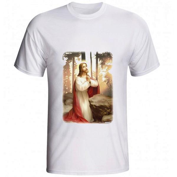 Camiseta Jesus Orando