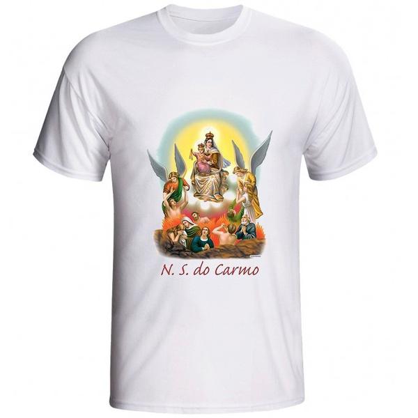 Camiseta Nossa Senhora do Carmo Adorada
