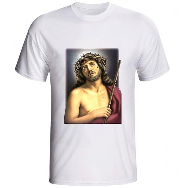 Camiseta Jesus Coroa de Espinhos
