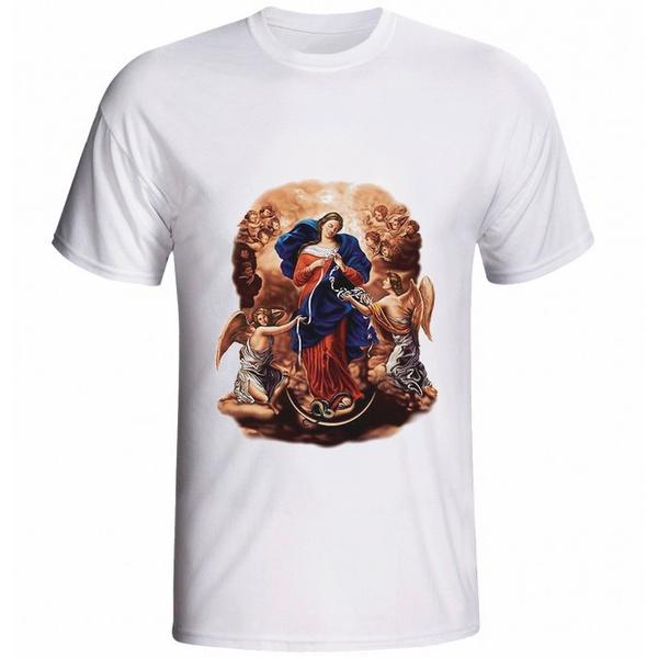 Camiseta Nossa Senhora Desatadora dos Nós