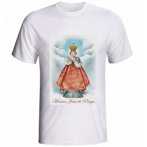 Camiseta Menino Jesus de Praga