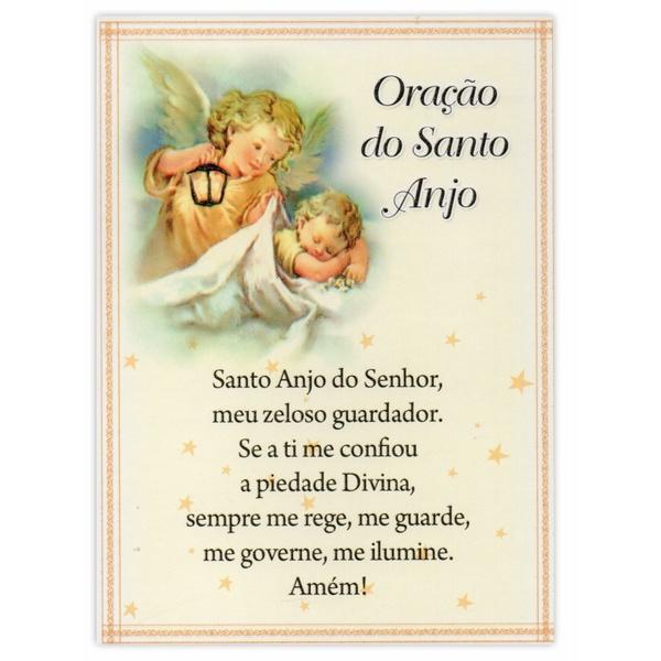 Cartão Postal Oração do Santo Anjo