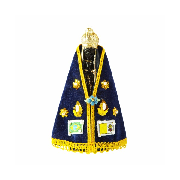 Imagem de Nossa Senhora Aparecida Manto com Caixa 11cm