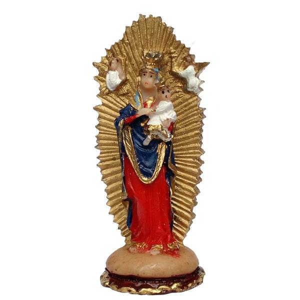 Imagem Nossa Senhora do Perpétuo Socorro 7cm Resina Nacional