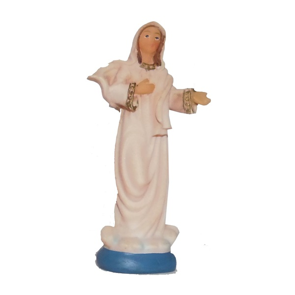 Nossa Senhora Rainha da Paz 7cm